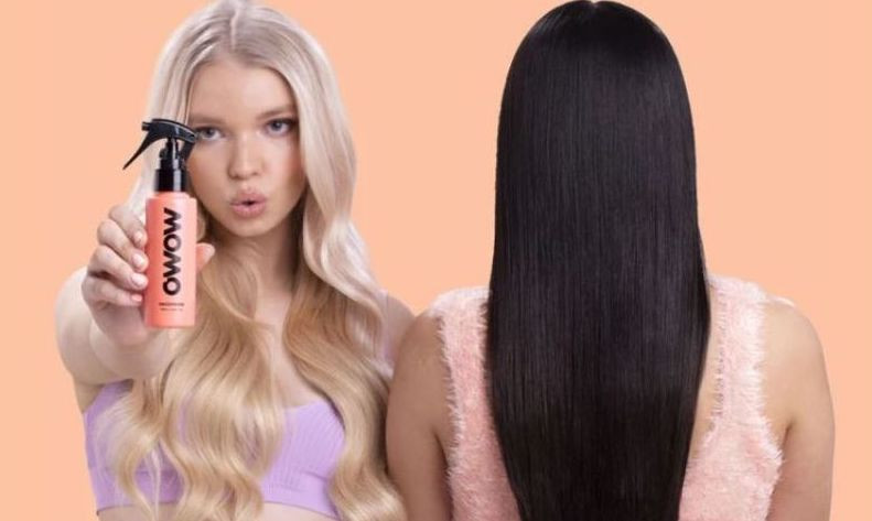 Owow hair models with products