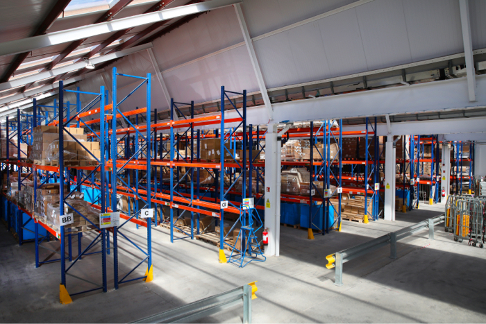 A full 3PL service with warehousing, pick & pack, shipping and return management
